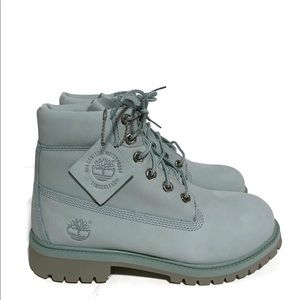 "New Timberland 6"" Premium Boot Jade Green"